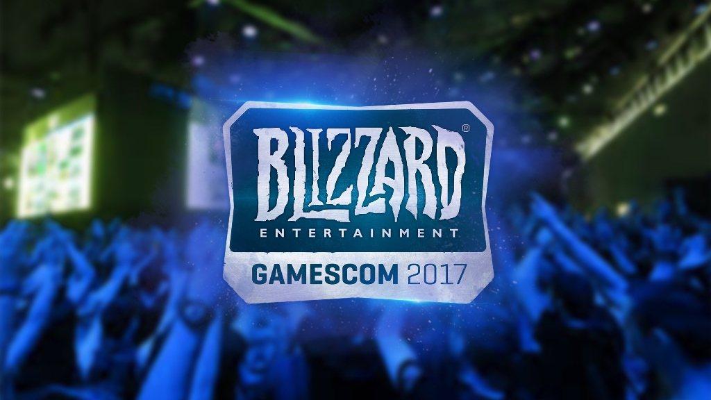 暴雪娛樂下週將重返德國科隆,參加 gamescom 2017 圖/暴雪提供
