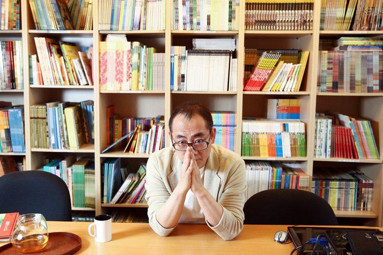 格林文化發行人郝廣才,日前在金鼎獎頒獎典禮的發言引發歧視外勞的爭議。 圖/聯合報...
