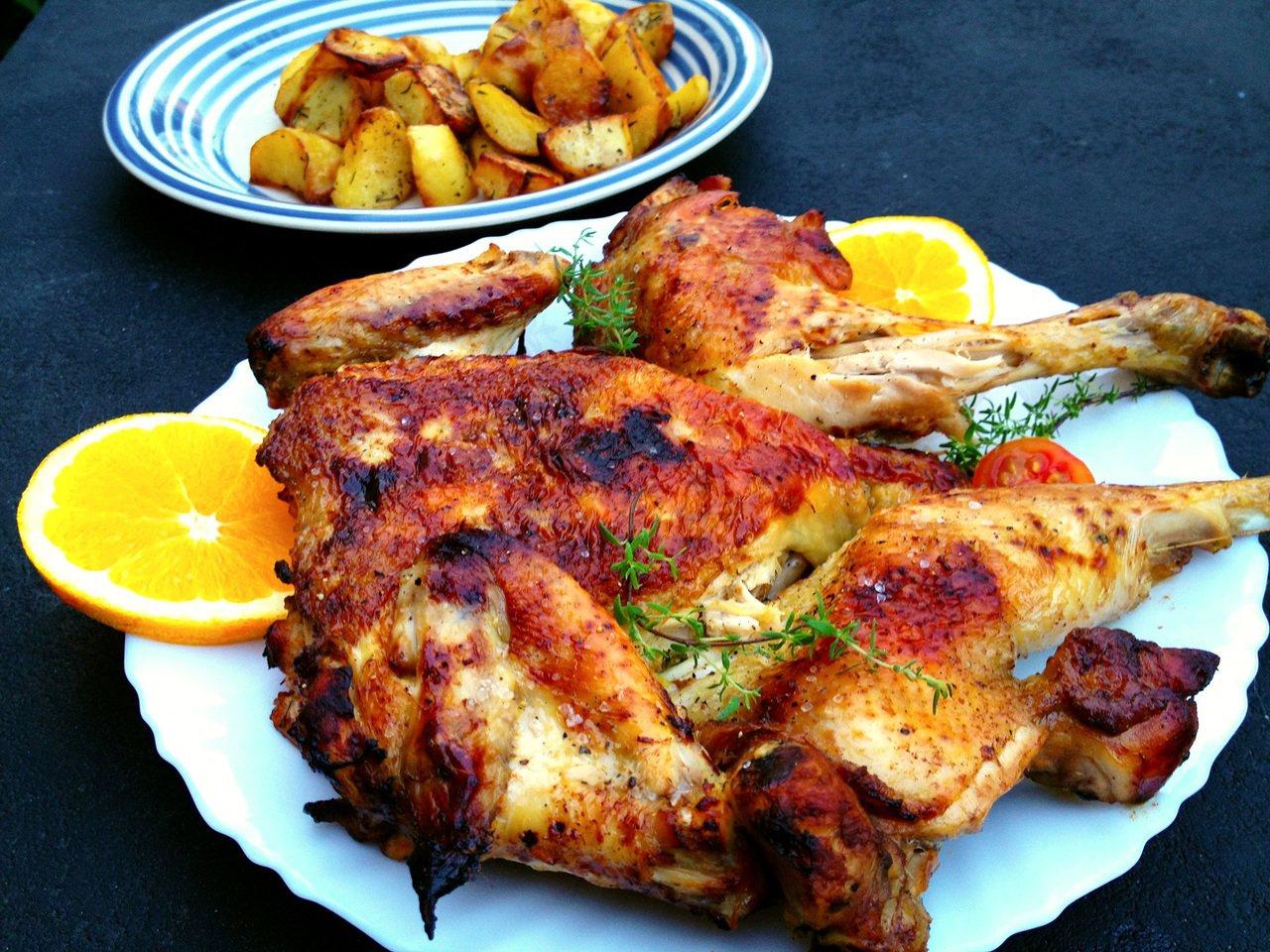 《獻給地獄廚房的情書》第10道 /受傷流血之必要:烤磚壓雞
