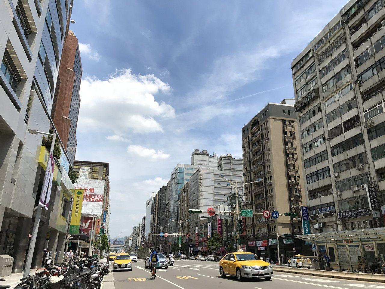 台北市平均屋齡為33.1年,是六都最高。 聯合報系資料照/記者游智文攝影