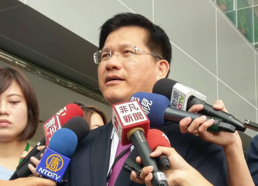 台中市長林佳龍。記者徐偉真/攝影
