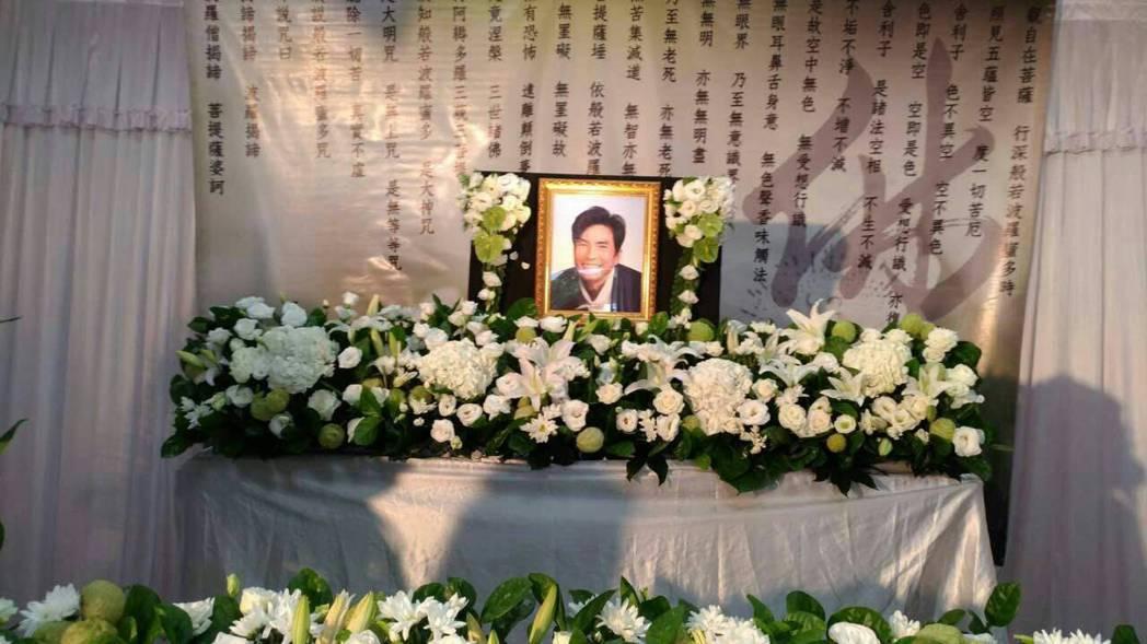 陳俊任導演昨舉辦告別式。圖/昇華娛樂提供