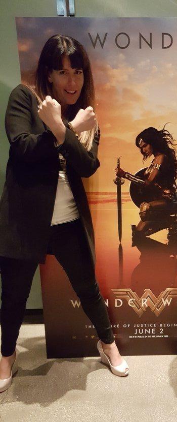 「神力女超人」導演派蒂詹金斯執導續集片酬可望飆破千萬美元。圖/摘自twitter