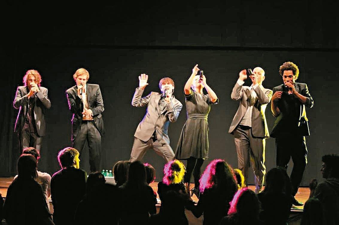 暌違五年,德國阿卡貝拉團體SLIXS將於今年十月來台開唱。 圖/聯合數位文創提供