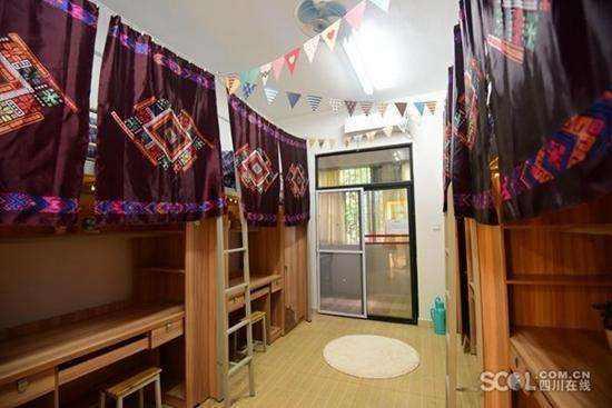 中國大陸四川省成都,開始出現出租暑期大學生宿舍的「共享宿舍」,引發有關校園安全和...