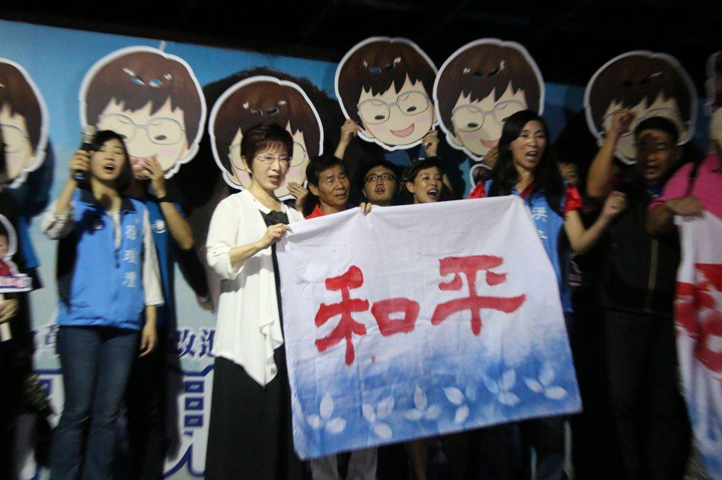 洪秀柱強力主導的「和平協議」新政策綱領,表示要以和平政綱對抗民進黨的台獨黨綱。 ...