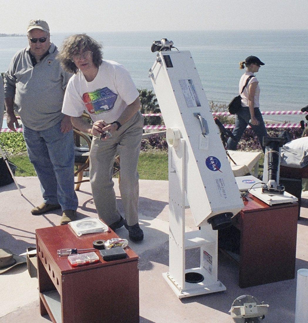 亞利桑納大學天文學家史奈德看過33次日全食,第一次在1970年,他14歲。 美聯...