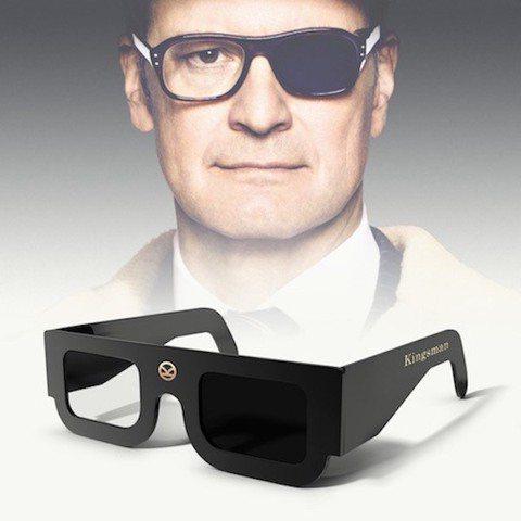 電影「金牌特務2:機密對決」雖然還未上映,卻已經引起許多討論,這一回柯林佛斯的新造型,僅有半邊是墨鏡,北美的福斯已經打鐵趁熱將其變成周邊商品,在購買電影票時可選擇加購「柯林佛斯」版本的3D眼鏡,外型...