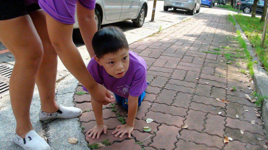 「我不想放棄」8歲腦麻兒苦練走路只為參加路跑