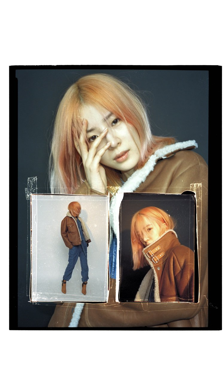 Irene Kim表現rag & bone秋冬女裝的面料之美。圖/rag & b...