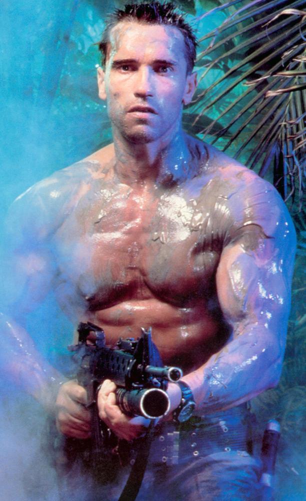 阿諾史瓦辛格在「終極戰士」展現健壯體格,票房開出佳績。圖/摘自Cineplex