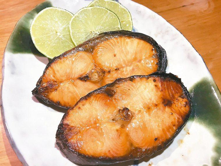 鮭魚西京燒 圖╱邵冰如