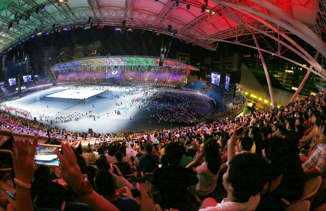 世大運組委會當晚在臉書上寫下:「沒有人可以阻止年輕的運動員走上更大的舞台」,貼文...