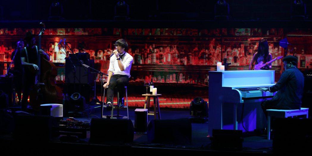 盧廣仲於台北國際會議中心舉辦個人演唱會。記者陳立凱/攝影