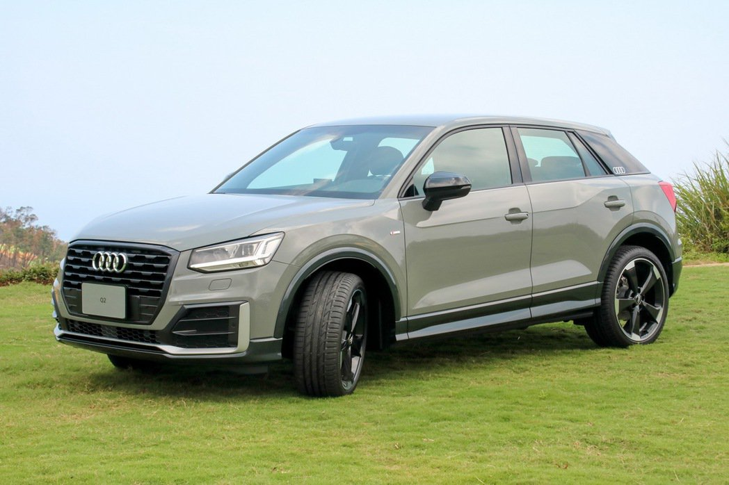 Audi Q2 Edition#1專屬套件。 記者史榮恩/攝影