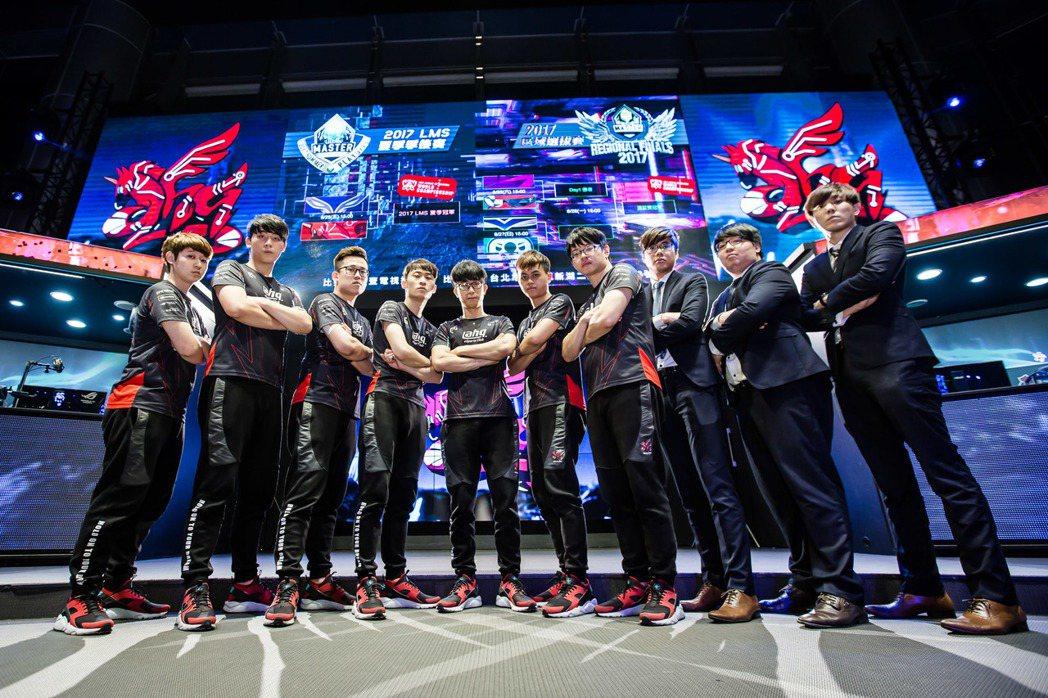 2017 LMS 夏季季後賽 ahq 3 比 1 淘汰 RG 成功晉級總冠軍賽。...