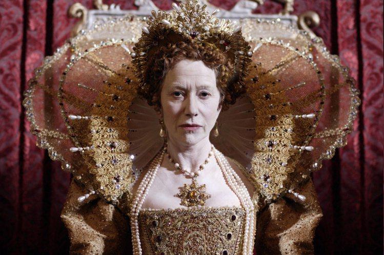 奧斯卡影后海倫米蘭(Helen Mirren)曾在60歲時演過伊莉莎白一世。圖/...