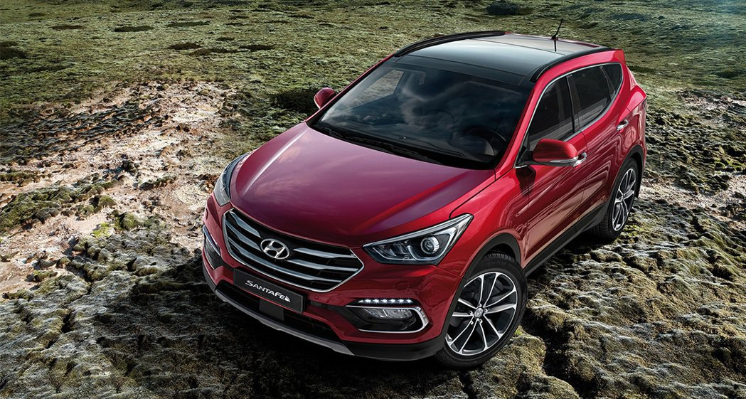 圖為Hyundai Sante Fe。 摘自Hyundai