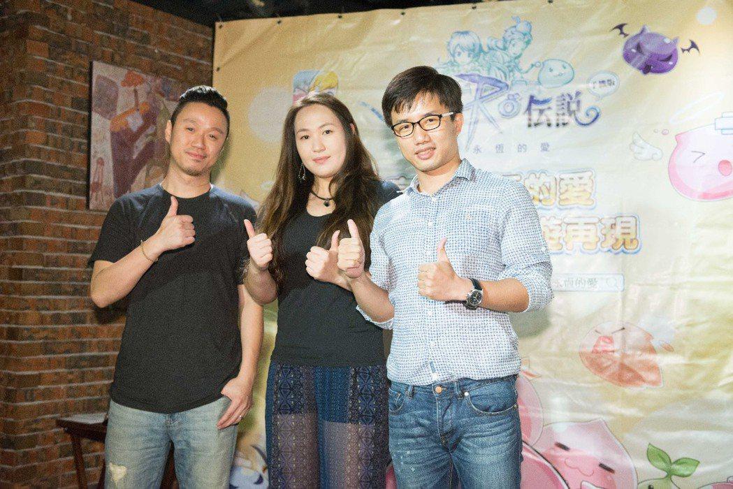 GRAVITY台灣分公司總監車玉潔(中)與唯數團隊一同出席活動。