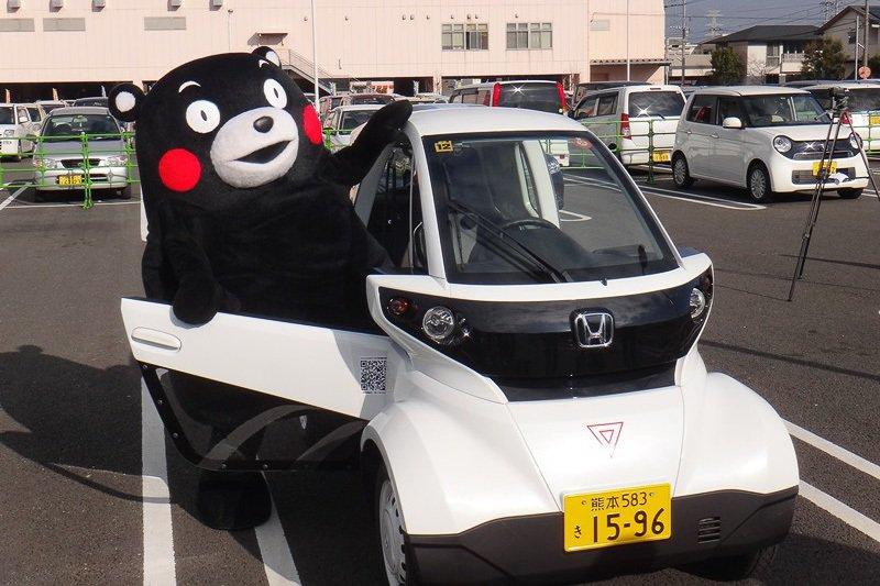 Honda於2013年就已積極開發微型電動車概念,以解決都會擁擠用車的需求。 圖...