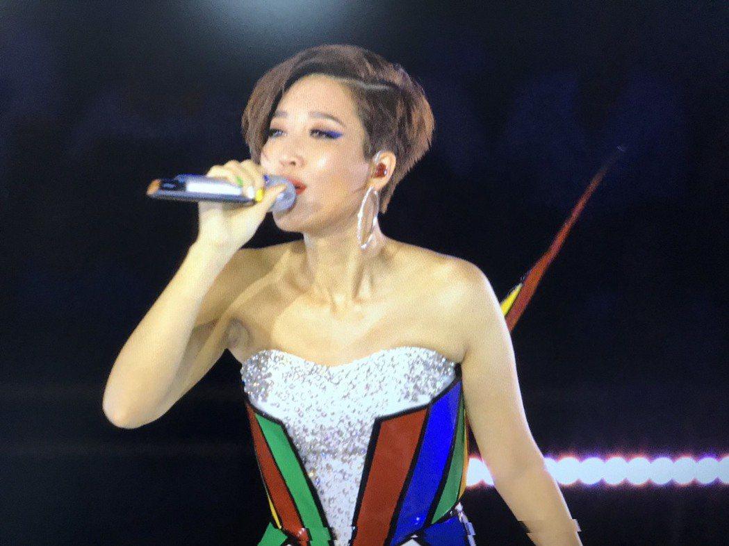 A-Lin表演相當精采。圖/華視提供