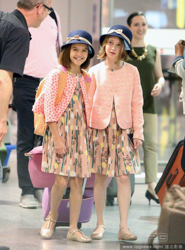 蘇蕊(左)以往經常背背包出門。圖/達志影像