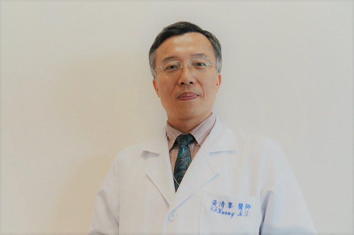 台北榮總兒童醫學部主治醫師黃清峯。 圖/黃清峯主任 提供