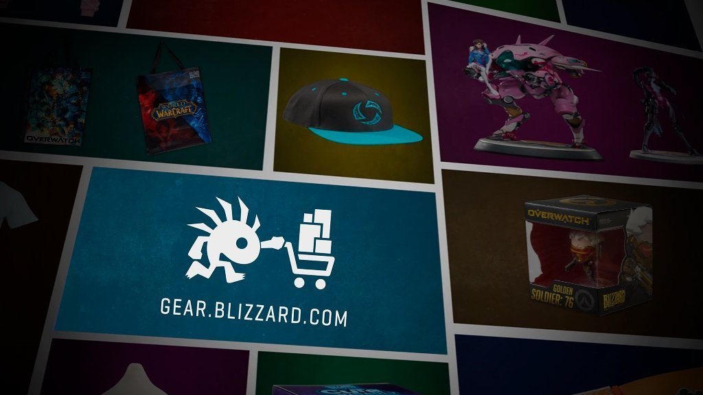 參加 gamescom 的玩家可至暴雪商店選購或預購暴雪周邊商品