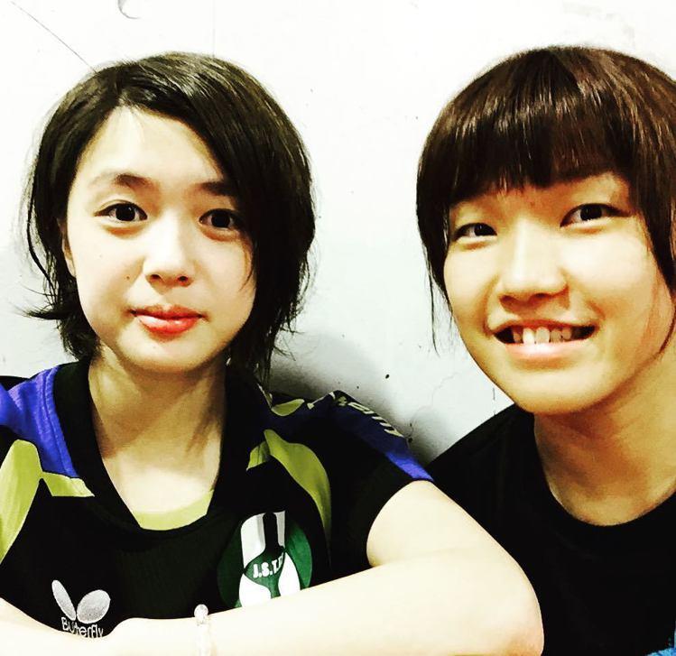 山本怜(左)。圖/擷自instagram