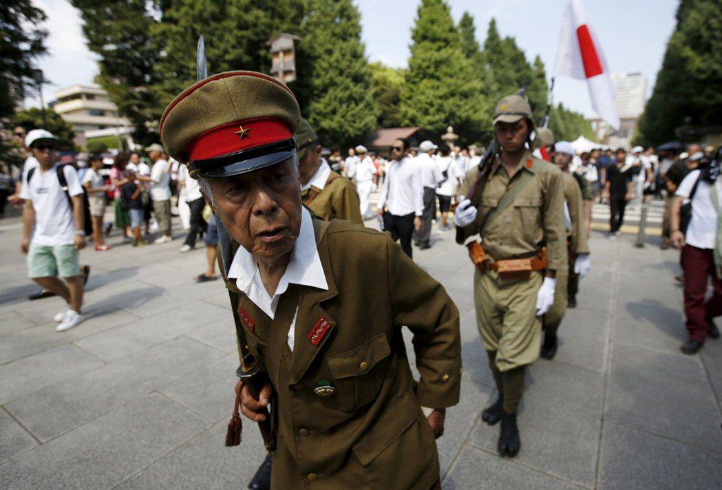 外界對於靖國神社,常停留於「軍國主義的象徵」這一點。 圖/路透社