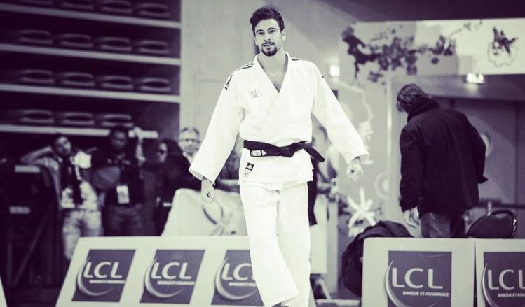 法國柔道選手 Benjamin Axus。圖/擷自instagram