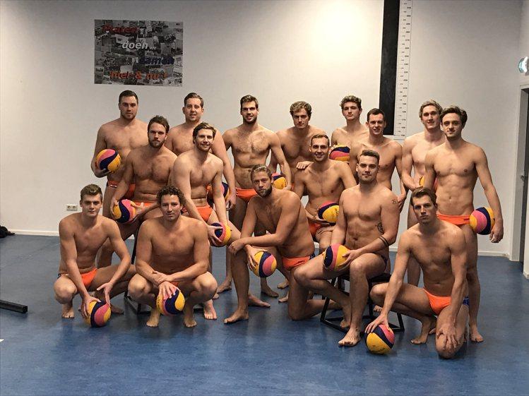 荷蘭水球隊。圖/擷自facebook
