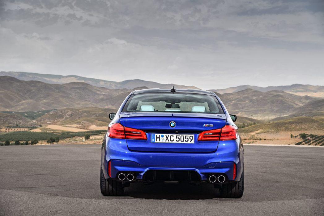 新世代的BMW M5。圖/BMW提供