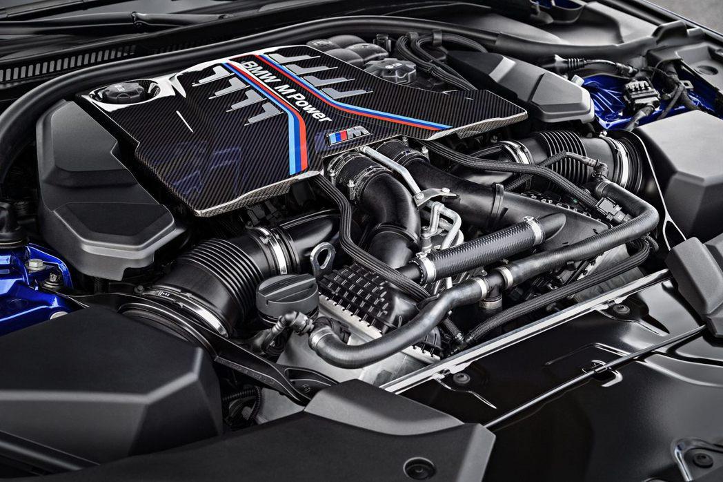 4.4升 V8雙渦輪增壓引擎。圖/BMW提供