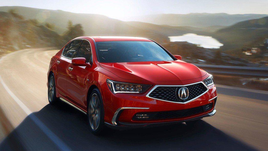 日系豪華品牌Acura,近期推出新一代小改款RLX豪華房車,外型更具銳利風格。 圖片摘自:Acura
