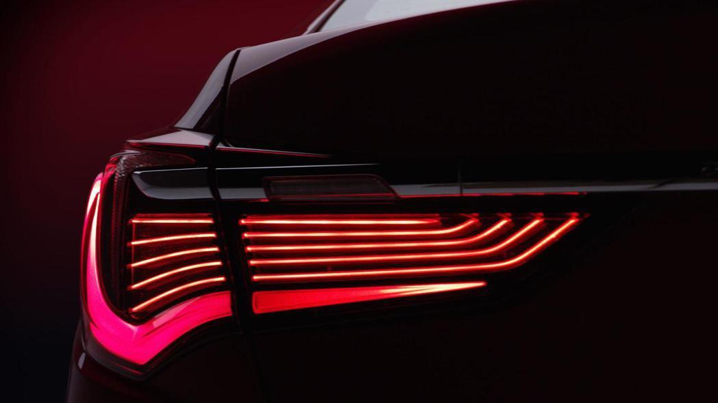 全新多光條式LED尾燈,營造濃濃科技感。 圖片摘自:Acura