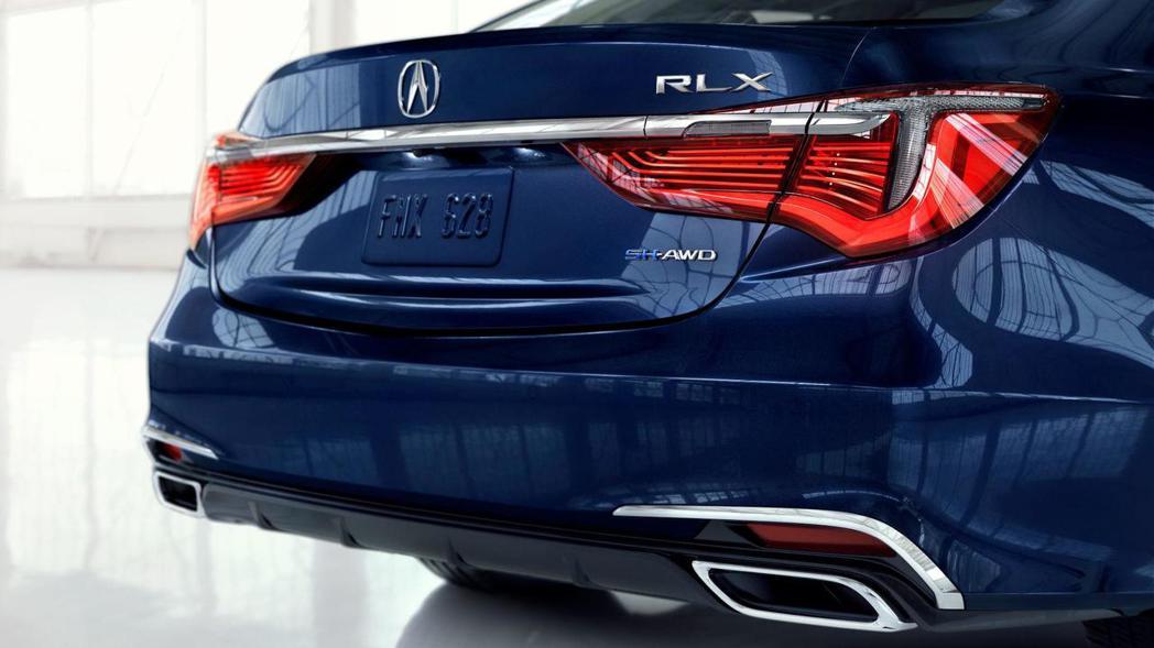 3.5升V6缸內直噴汽油引擎的RXL,換上全新十速手自排變速系統。 圖片摘自:Acura