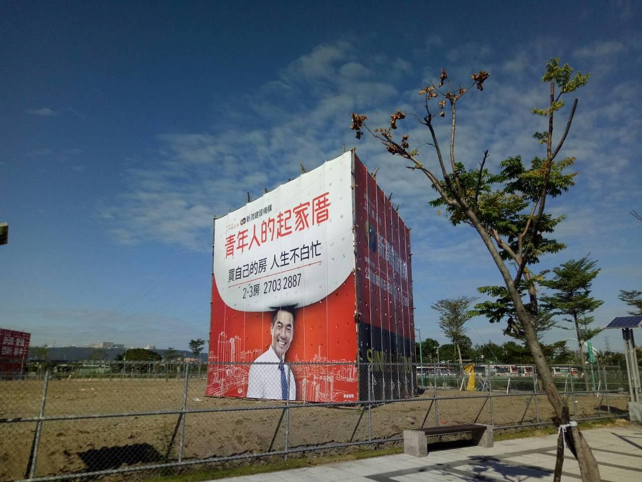 新北市江翠北側重劃區(圖),去年祭出「4字頭入住板橋」震撼價銷售後,房市比價效應...