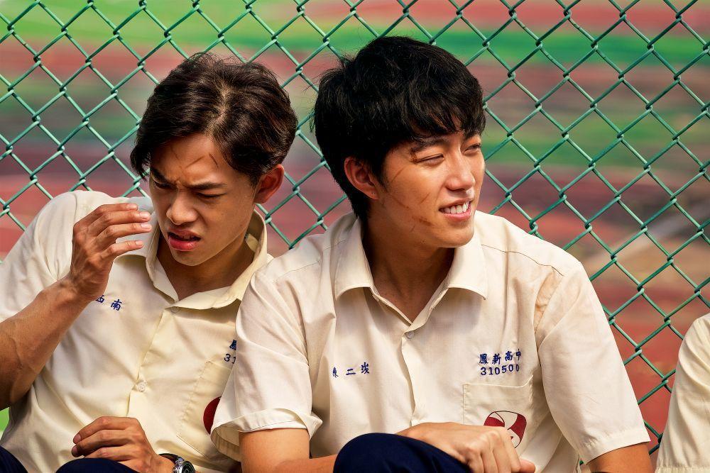 蔡凡熙(右)在「癡情男子漢」的演出,有望角逐金馬獎。圖/牽猴子提供