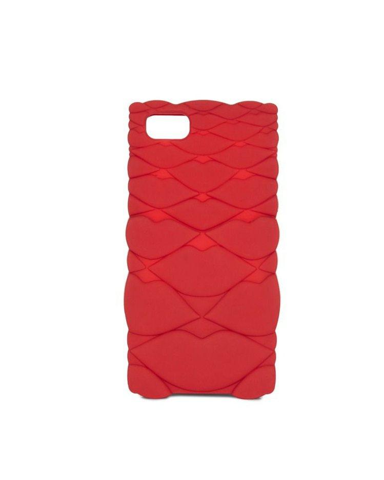 烈焰紅唇手機殼,2,180元。圖/LULU GUINNESS提供