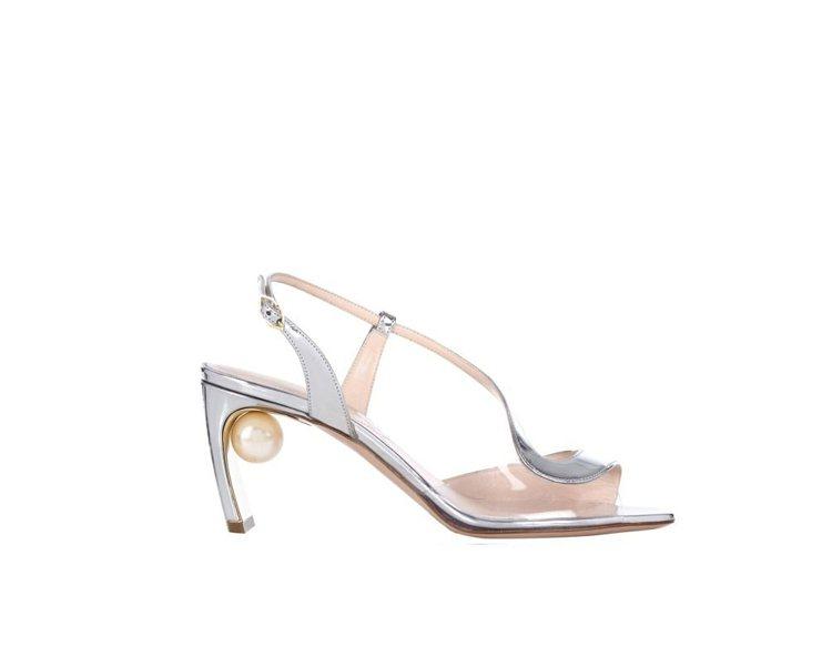 Nicholas Kirkwood珍珠高跟涼鞋,售價31,900元。圖/MINO...