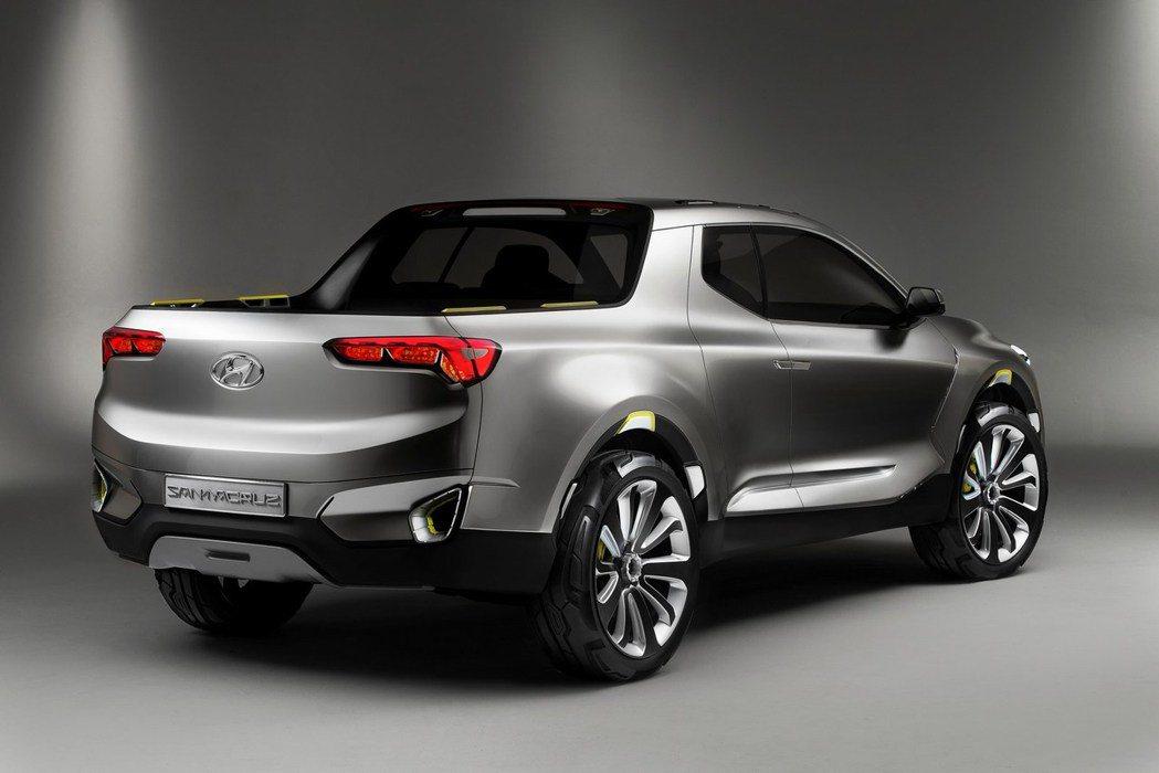 Hyundai Santa Cruz Concept。圖/Hyundai提供