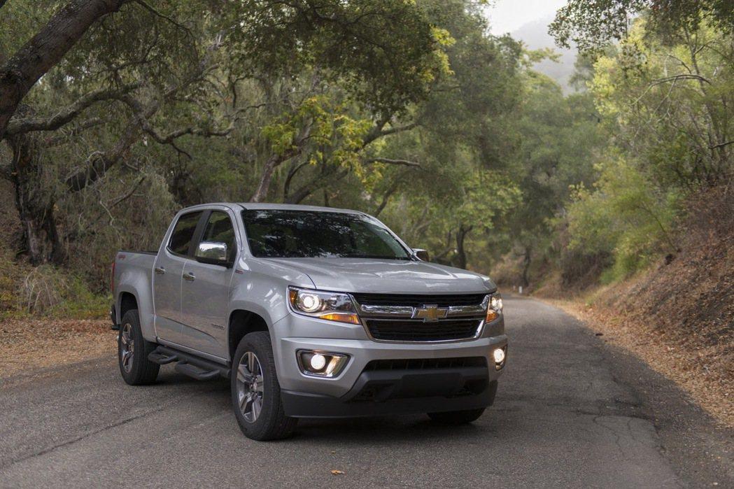 Chevrolet Colorado。圖/Chevrolet提供