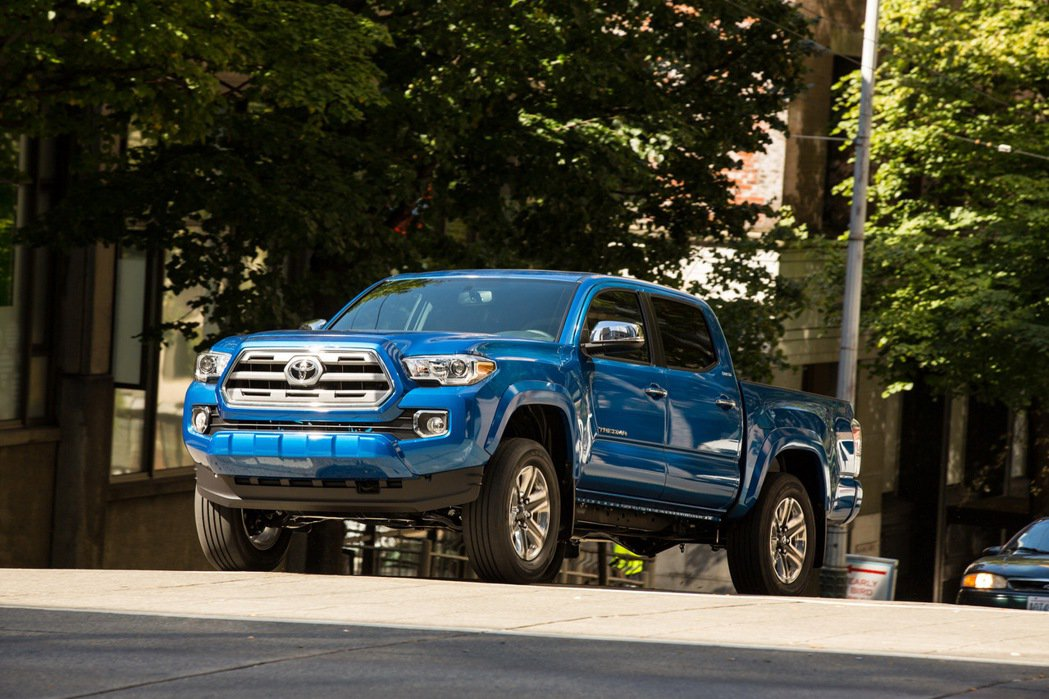 Toyota Tacoma。圖/Toyota提供