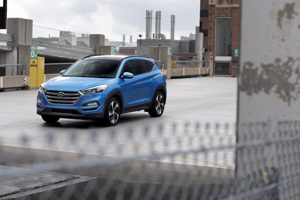 Hyundai Tucson。圖/Hyundai提供
