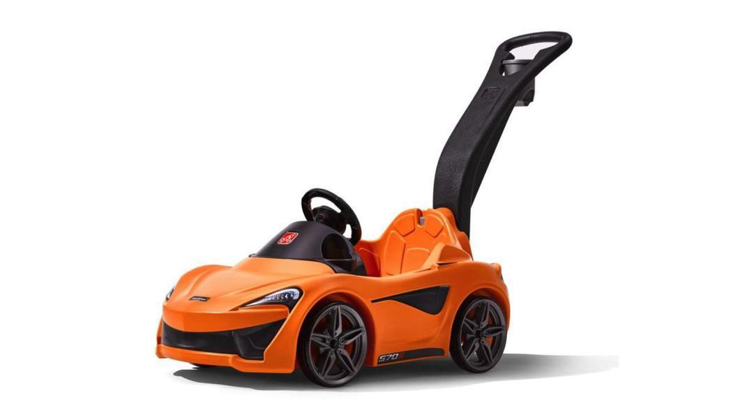McLaren聯合玩具業者推出首部570S Push Sports Car兒童學...