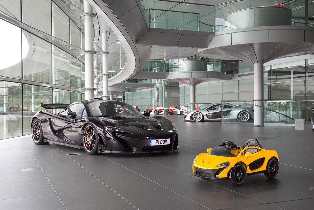 Step2先前也曾與McLaren合作開發出McLaren P1電動兒童車。 圖...