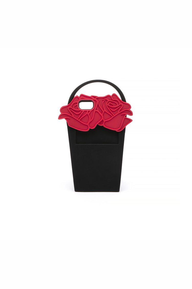 玫瑰花籃手機殼,2,180元。圖/LULU GUINNESS提供