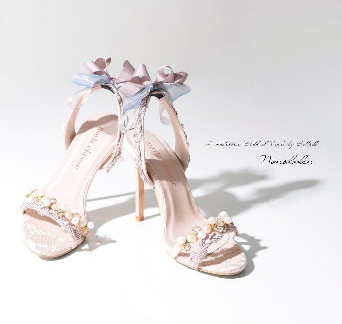 日本Mayla classic品牌的Nonshoden鞋履相當浪漫。圖/取自品牌...