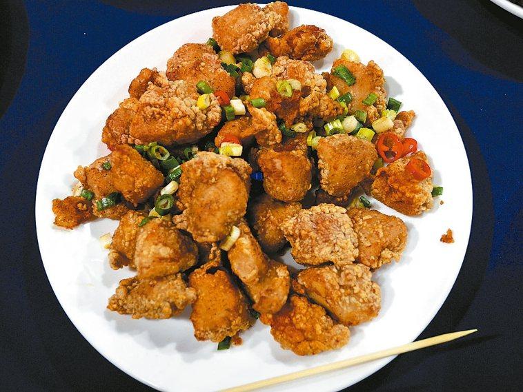 鹹酥雞。 記者吳思萍/攝影